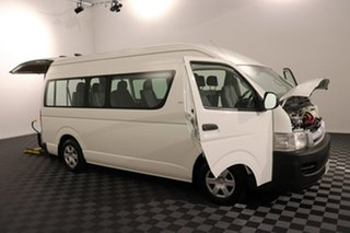 2006 Toyota HiAce TRH223R Commuter High Roof Super LWB White 4 speed Automatic Bus