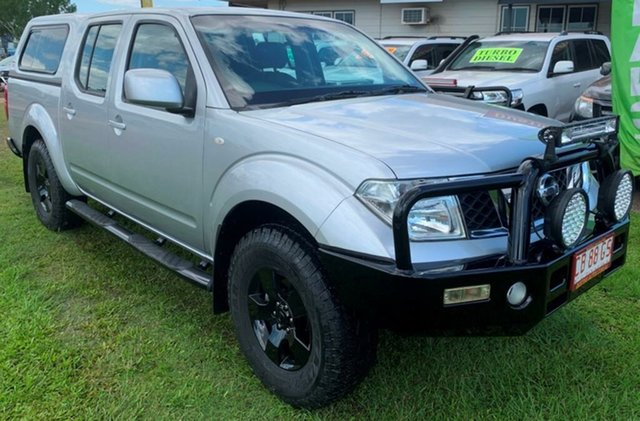 Used Nissan Navara D40 S6 MY12 ST, 2012 Nissan Navara D40 S6 MY12 ST Silver 6 Speed Manual Utility