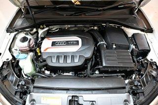2014 Audi S3 8V MY14 Sportback S Tronic Quattro White 6 Speed Sports Automatic Dual Clutch Hatchback