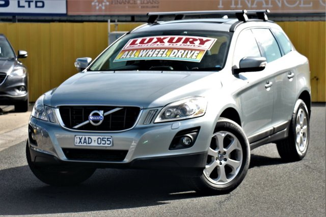 Used Volvo XC60 DZ MY09 T6 Geartronic AWD, 2009 Volvo XC60 DZ MY09 T6 Geartronic AWD Silver 6 Speed Sports Automatic Wagon