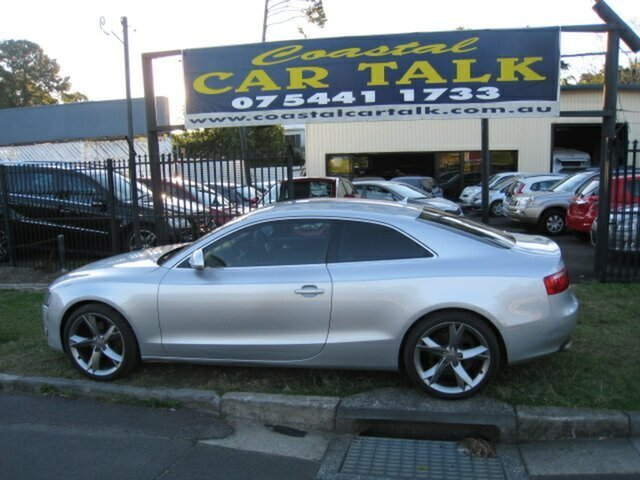 Used Audi A5 8T 3.2 FSI Quattro, 2008 Audi A5 8T 3.2 FSI Quattro Silver 6 Speed Tiptronic Coupe