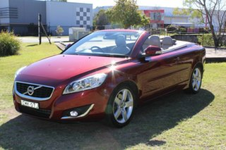 2012 Volvo C70 M Series MY12 T5 Geartronic Red 5 Speed Sports Automatic Convertible.