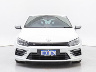 2015 Volkswagen Scirocco 1S MY15 R White 6 Speed Direct Shift Coupe.