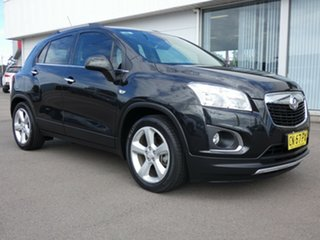 2015 Holden Trax TJ MY15 LTZ Black 6 Speed Automatic Wagon.