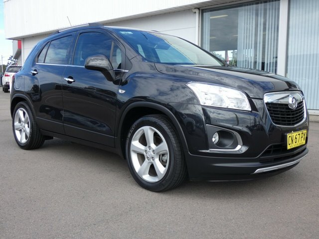 Used Holden Trax TJ MY15 LTZ, 2015 Holden Trax TJ MY15 LTZ Black 6 Speed Automatic Wagon