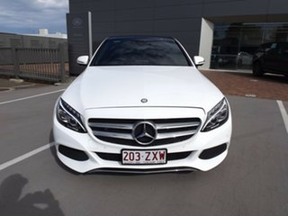 2016 Mercedes-Benz C-Class W205 807MY C200 7G-Tronic + 7 Speed Sports Automatic Sedan.