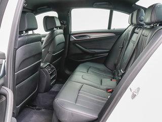 2018 BMW 530d G30 MY17 M Sport White 8 Speed Automatic Sedan