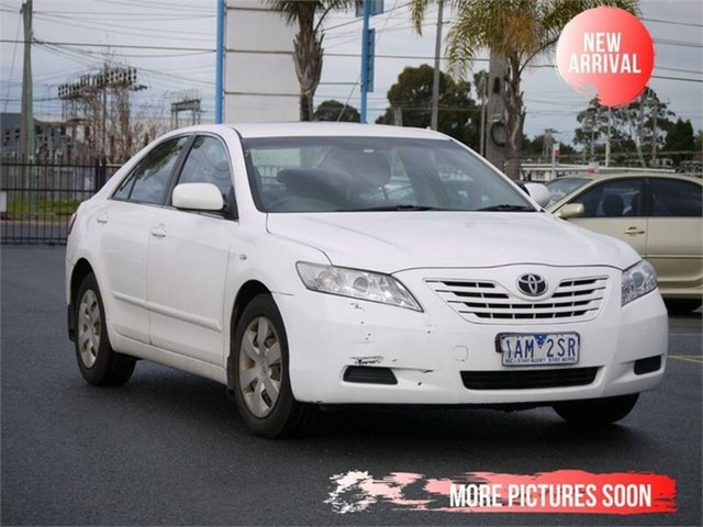 Used Toyota Camry ACV36R Altise Limited, 2006 Toyota Camry ACV36R Altise Limited White Automatic Sedan