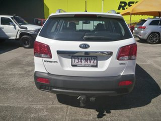 2010 Kia Sorento XM MY10 SLi White 6 Speed Sports Automatic Wagon