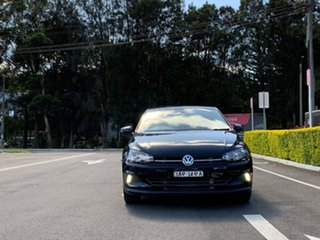 2020 Volkswagen Polo AW MY20 85TSI DSG Style Black 7 Speed Sports Automatic Dual Clutch Hatchback