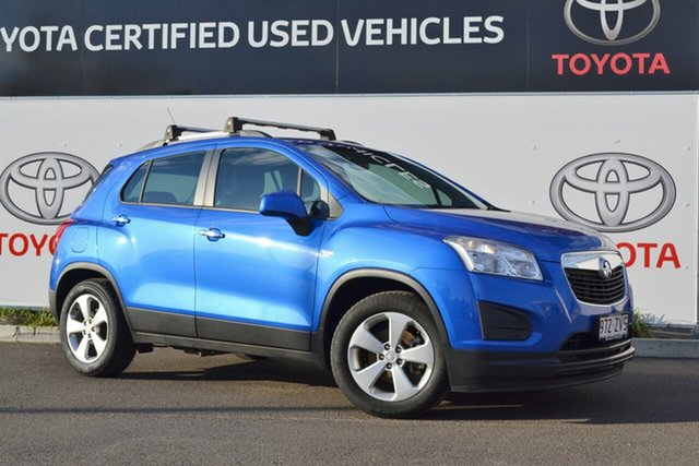 Used Holden Trax TJ MY16 LS Active Pack, 2016 Holden Trax TJ MY16 LS Active Pack Blue 5 Speed Manual Wagon
