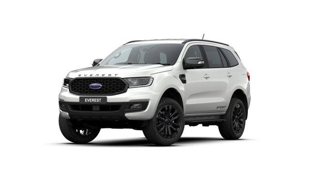 New Ford Everest UA II 2020.75MY Sport, 2020 Ford Everest UA II 2020.75MY Sport White 6 Speed Automatic SUV