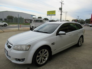 2011 Holden Commodore VE II Equipe White 6 Speed Automatic Wagon.