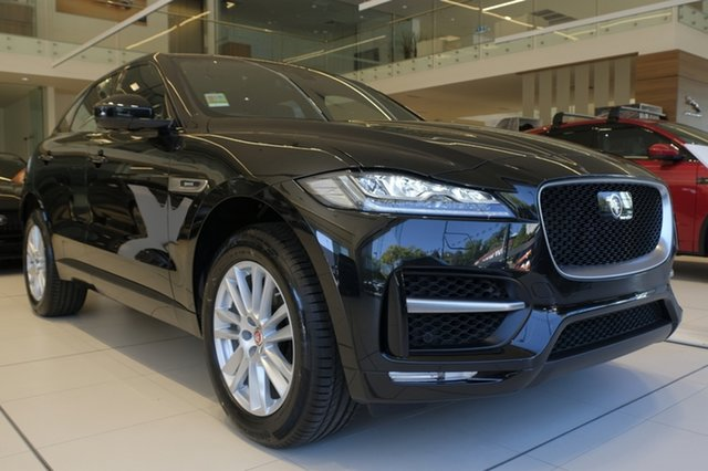 Demo Jaguar E-PACE X540 20MY P250 AWD R-Dynamic S, 2019 Jaguar E-PACE X540 20MY P250 AWD R-Dynamic S Santorini Black 9 Speed Sports Automatic Wagon