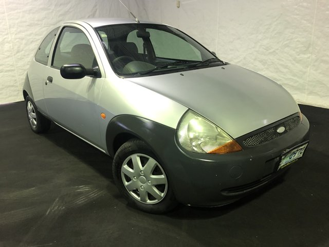 Used Ford Ka TA MY2000 , 2000 Ford Ka TA MY2000 Silver 5 Speed Manual Hatchback
