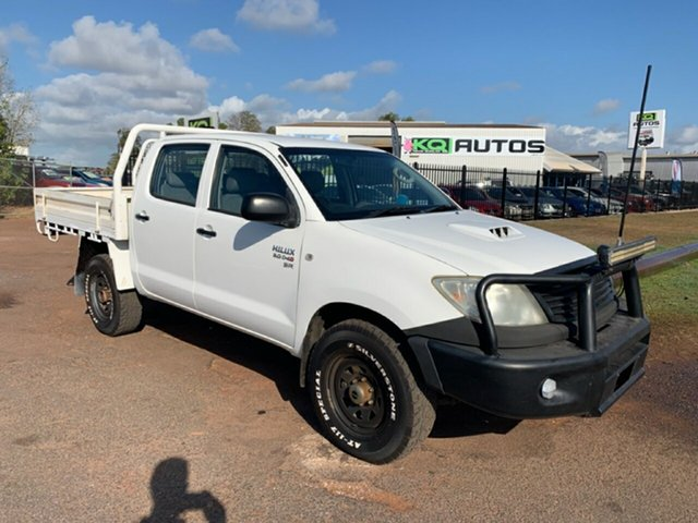 Used Toyota Hilux KUN26R MY10 SR, 2011 Toyota Hilux KUN26R MY10 SR White 5 Speed Manual Cab Chassis