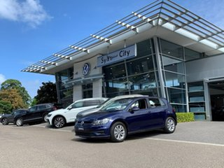 2020 Volkswagen Golf 7.5 MY20 110TSI DSG Trendline Blue 7 Speed Sports Automatic Dual Clutch.