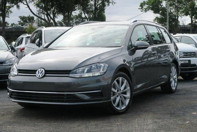 Demo Volkswagen Golf 7.5 MY20 110TSI DSG Comfortline, 2020 Volkswagen Golf 7.5 MY20 110TSI DSG Comfortline Grey 7 Speed Sports Automatic Dual Clutch Wagon