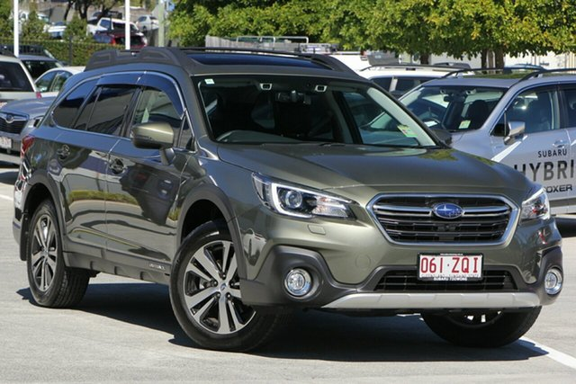 Demo Subaru Outback B6A MY20 2.5i CVT AWD Premium, 2019 Subaru Outback B6A MY20 2.5i CVT AWD Premium Wilderness Green 7 Speed Constant Variable Wagon