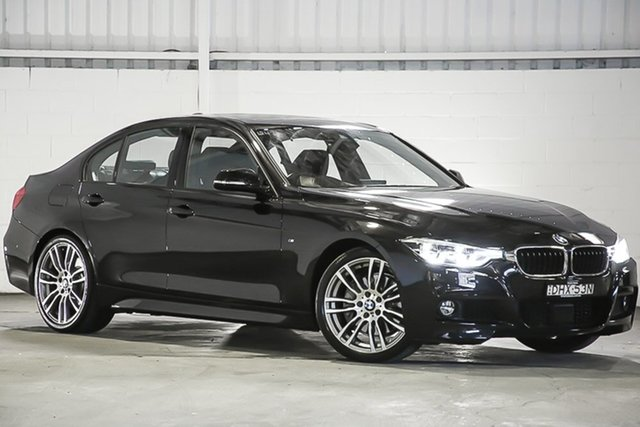 Used BMW 3 Series F30 LCI 340i M Sport, 2016 BMW 3 Series F30 LCI 340i M Sport Black 8 Speed Sports Automatic Sedan