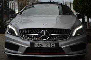 2013 Mercedes-Benz A-Class W176 A200 CDI D-CT Silver 7 Speed Sports Automatic Dual Clutch Hatchback.