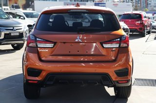 2021 Mitsubishi ASX XD MY21 MR 2WD Sunshine Orange 1 Speed Constant Variable Wagon