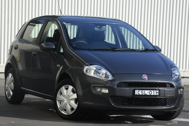 Used Fiat Punto MY13 POP, 2013 Fiat Punto MY13 POP Grey 5 Speed Manual Hatchback