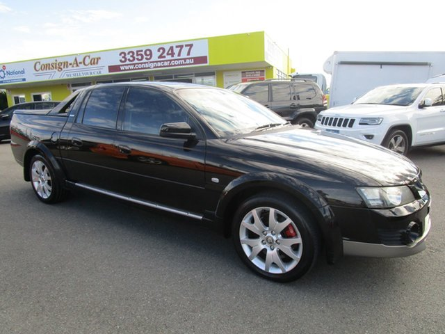 Used Holden Special Vehicles Avalanche Y Series II XUV, 2004 Holden Special Vehicles Avalanche Y Series II XUV Black 4 Speed Automatic Utility