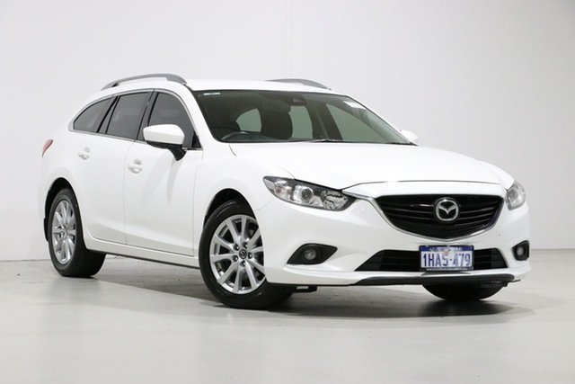 Used Mazda 6 6C MY17 (gl) Sport, 2016 Mazda 6 6C MY17 (gl) Sport White 6 Speed Automatic Wagon