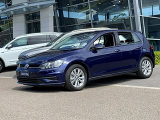 2020 Volkswagen Golf 7.5 MY20 110TSI DSG Trendline Blue 7 Speed Sports Automatic Dual Clutch