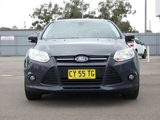2014 Ford Focus LW MkII MY14 Trend PwrShift Black 6 Speed Automatic Hatchback.