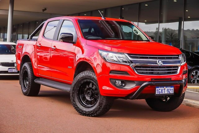 Used Holden Colorado RG MY20 LTZ Pickup Crew Cab, 2019 Holden Colorado RG MY20 LTZ Pickup Crew Cab Red 6 Speed Sports Automatic Utility