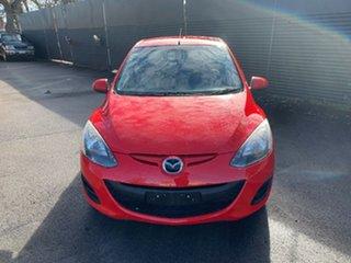 2012 Mazda 2 DE10Y2 MY12 Neo Red 5 Speed Manual Hatchback.