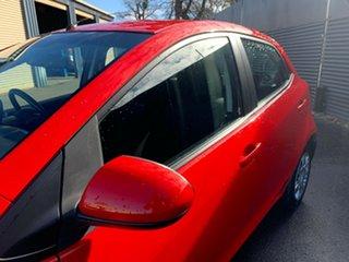 2012 Mazda 2 DE10Y2 MY12 Neo Red 5 Speed Manual Hatchback