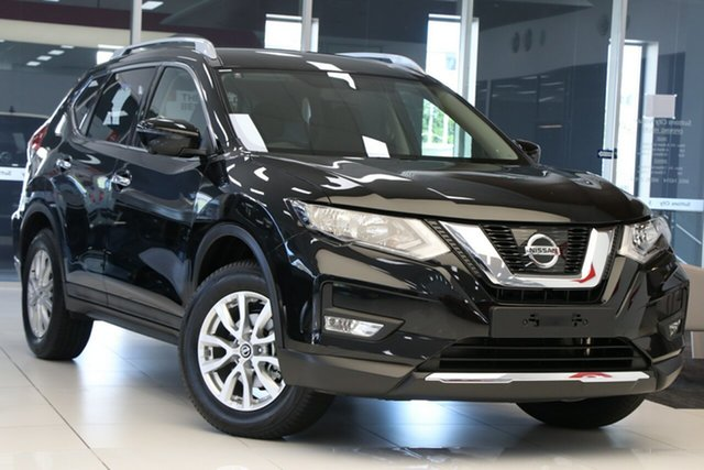 New Nissan X-Trail T32 MY20 ST-L (4x2) Castle Hill, 2021 Nissan X-Trail T32 MY20 ST-L (4x2) Diamond Black Continuous Variable Wagon