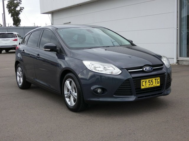 Used Ford Focus LW MkII MY14 Trend PwrShift, 2014 Ford Focus LW MkII MY14 Trend PwrShift Black 6 Speed Automatic Hatchback