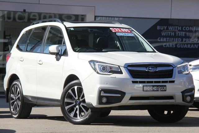 Used Subaru Forester MY18 2.5I-S, 2017 Subaru Forester MY18 2.5I-S White Pearl Continuous Variable Wagon