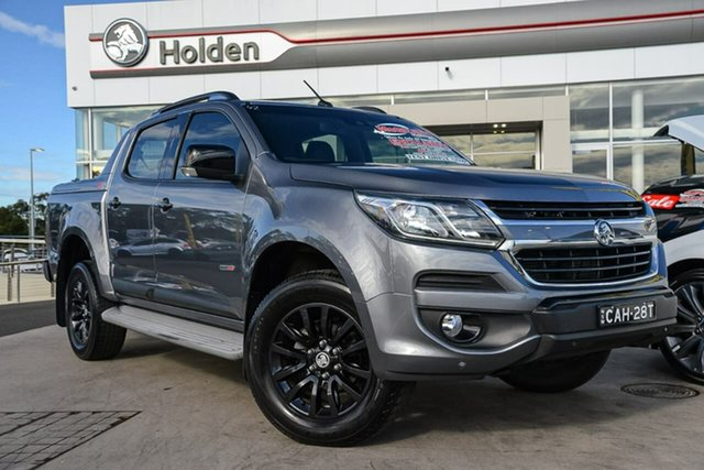 Used Holden Colorado RG MY18 Z71 Pickup Crew Cab, 2017 Holden Colorado RG MY18 Z71 Pickup Crew Cab Satin Steel 6 Speed Sports Automatic Utility