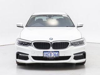 2018 BMW 530d G30 MY17 M Sport White 8 Speed Automatic Sedan.