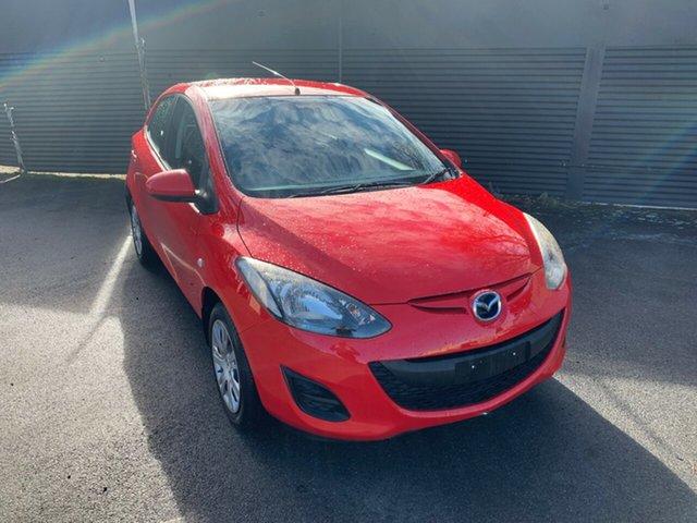 Used Mazda 2 DE10Y2 MY12 Neo, 2012 Mazda 2 DE10Y2 MY12 Neo Red 5 Speed Manual Hatchback