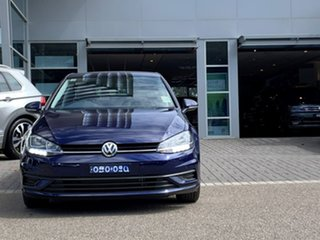 2020 Volkswagen Golf 7.5 MY20 110TSI DSG Trendline Blue 7 Speed Sports Automatic Dual Clutch.
