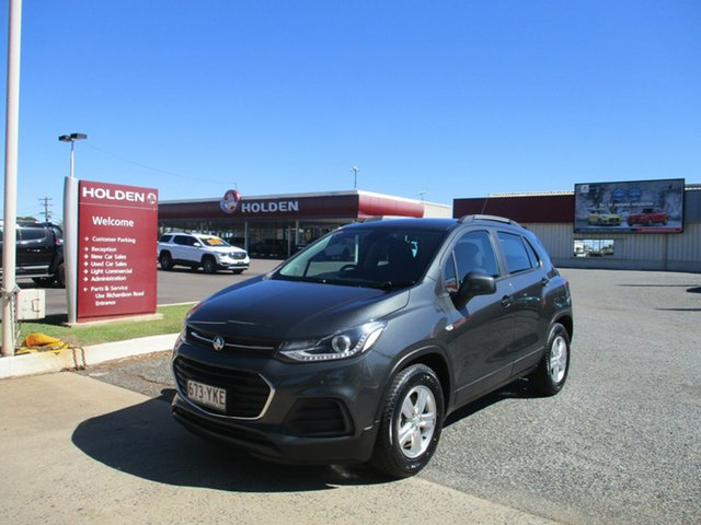 Used Holden Trax TJ MY18 LS North Rockhampton, 2018 Holden Trax TJ MY18 LS Grey 6 Speed Automatic Wagon