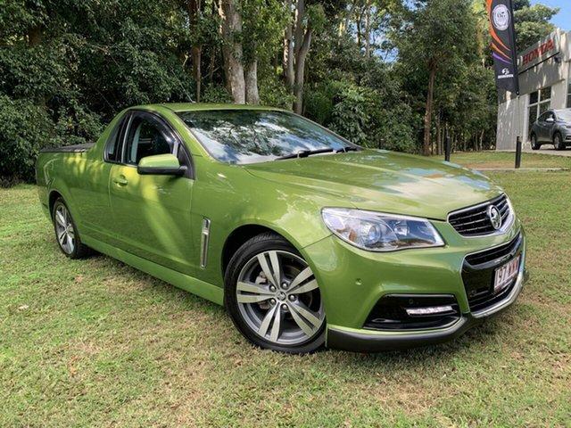 Used Holden Ute VF MY15 SV6 Ute, 2015 Holden Ute VF MY15 SV6 Ute Green 6 Speed Manual Utility