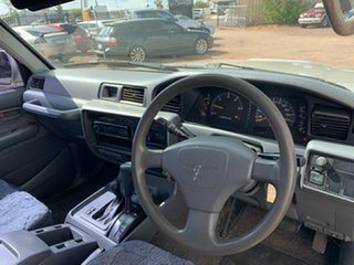 1996 Toyota Landcruiser FZJ80R GXL Silver 4 Speed Automatic Wagon