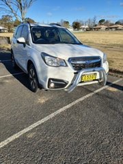 2016 Subaru Forester S4 MY16 2.5i-L CVT AWD White 6 Speed Constant Variable Wagon.