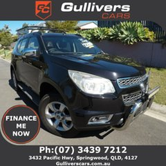 2012 Holden Colorado 7 LTZ Black 6 Speed Auto Active Select Wagon