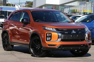 2020 Mitsubishi ASX XD MY21 MR 2WD Sunshine Orange 1 Speed Constant Variable Wagon.