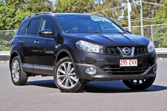 Used Nissan Dualis J10 Series II MY2010 +2 Hatch X-tronic Ti, 2011 Nissan Dualis J10 Series II MY2010 +2 Hatch X-tronic Ti Black 6 Speed Constant Variable
