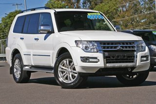 2018 Mitsubishi Pajero NX MY18 Exceed White 5 Speed Sports Automatic Wagon.