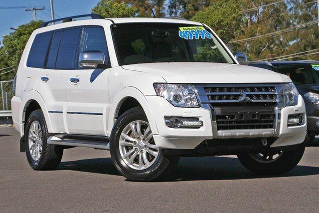 Used Mitsubishi Pajero NX MY18 Exceed, 2018 Mitsubishi Pajero NX MY18 Exceed White 5 Speed Sports Automatic Wagon